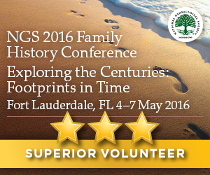NGS 2016 - Superior Volunteer Award